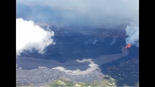 Video Flying Over Lava in Hawaii MP3, 3GP, MP4, WEBM, AVI, FLV Juli 2018