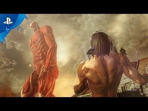 Attack on Titan 2: Final Battle - Reveal Trailer | PS4 - Thời lượng: 2 phút, 4 giây.