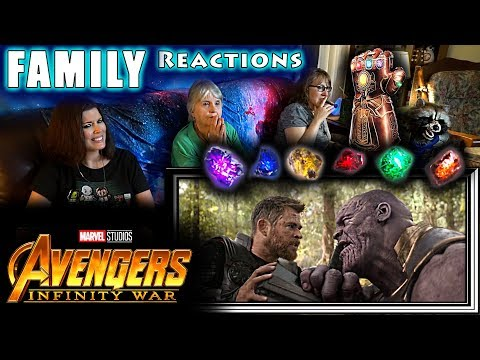 INFINITY WAR | Avengers 3 | FAMILY Reactions | Fair Use