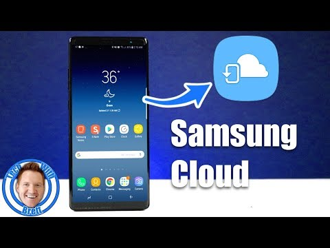 Samsung Cloud Backup & Restore For S8, S8+ & Note 8