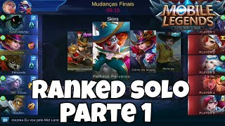 Tudocelular - RANKED SOLO  PARTE 1 - MOBILE LEGENDS