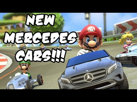 Mercedes - Watch as shiny new cars fly by on mirrored courses! ZOOM!!! Mario Kart 8 Multiplayer Gameplay / Mario Kart 8 Walkthrough - New Mario Kart 8 Wii U Gameplay Part 1. This 1080p HD Mario Kart...