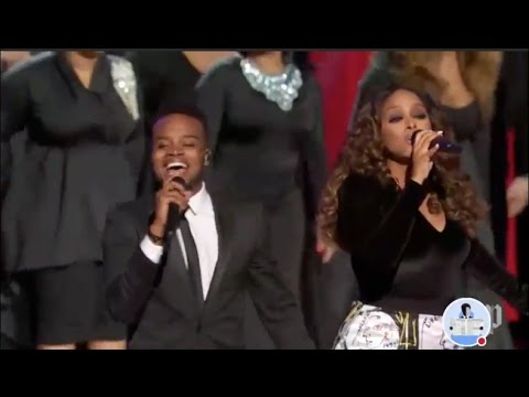 "Chrisette Michele and Travis Greene perform ""Intentional"" live Donald Trump's Inaugural Ball 2017"