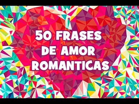 Frases românticas - 50 Frases de amor románticas en español. Imágenes bonitas de amor.