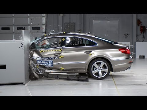 volkswagen - 2012 Volkswagen CC 40 mph small overlap IIHS crash test Overall evaluation: Marginal Full rating at http://www.iihs.org/ratings/rating.aspx?id=1674&seriesid=668.