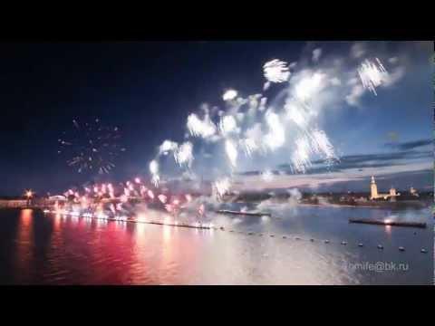 Saint-Petersburg Timelapse