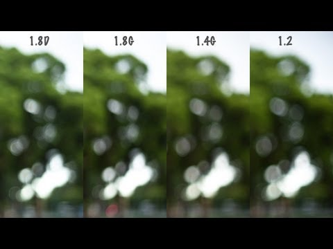50mm Shoot Out! Part 4 - BOKEH!