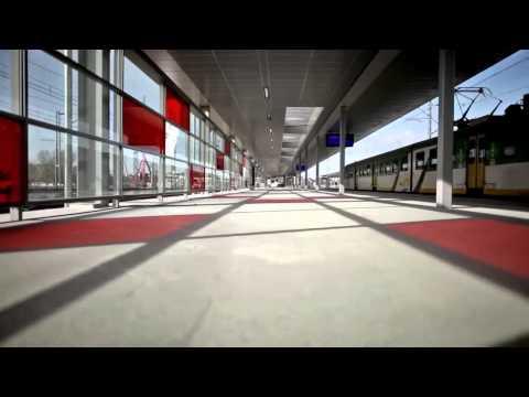 Estación de tren: Estadio de Varsovia