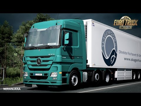 Cabin sounds for Mercedes Actros MP3 V6 410 1.35.x