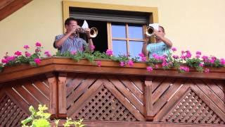 Eine schöne Weise vom 100er-Flügelhorn-Duo