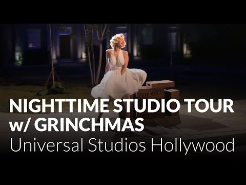 Nighttime Studio Tour featuring Grinchmas at Universal Studios Hollywood