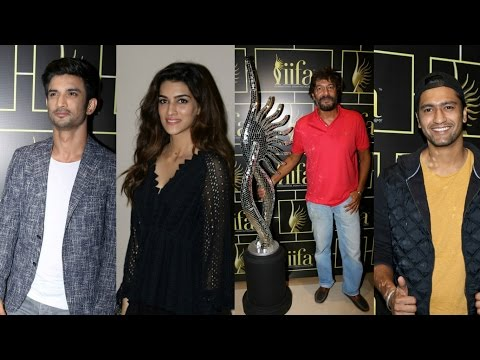 Sushant Singh Rajput | Kirti Sanon | Chunky Pandey | Vicky Kaushal At IIFA Voting Weekend 2017