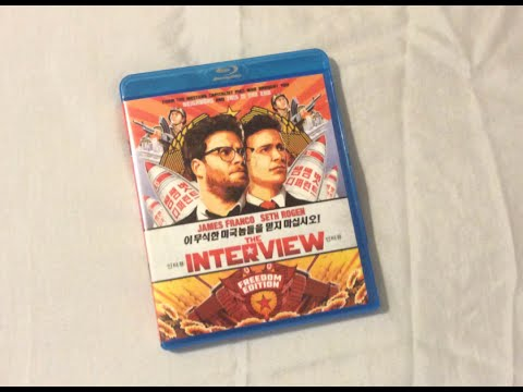 The Interview (2014) Blu Ray Review and Unboxing
