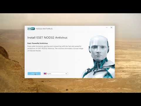 How to Download And Install ESET NOD32 Antivirus [Tutorial]