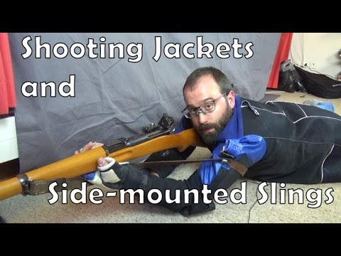 Shooting jackets and using a side-mounted sling (видео)