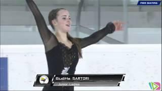 Giuditta SARTORI 1° gara categoria Junior 2017