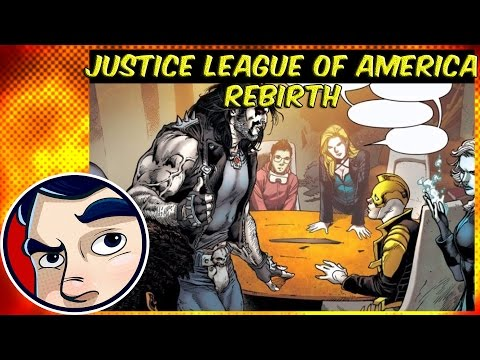 Justice League of America Rebirth - Rebirth Complete Story (видео)
