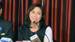 Leni sees good working relationship with Duterte