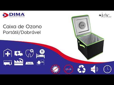 Caixa de tratamento de Ozono