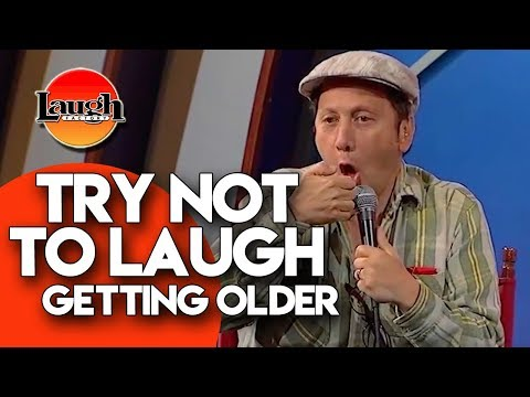 Try Not To Laugh | Getting Older | Laugh Factory Stand Up Comedy
