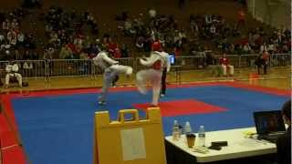 Mark Lopez vs Jaysen Ishida 2013 USAT Team Trials (rounds 2 and 3)