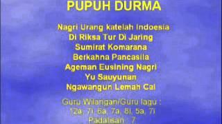 Lagu Sunda dengan Lirik   PUPUH DURMA