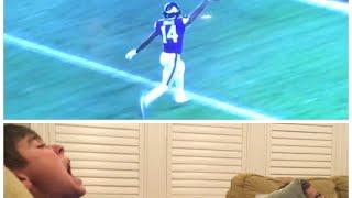 Video Saints fan reacts to the game winning touchdown vs Vikings in the playoffs MP3, 3GP, MP4, WEBM, AVI, FLV Januari 2018