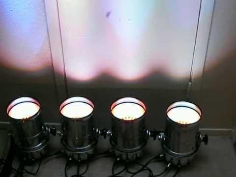 uplighting - irradiant  PAR 56 LONG LED   PAR CAN   SRL 6079L LER PAR dj uplighting