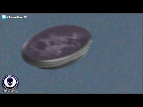 「有電路」碟型物從烏雲竄出 專家:確認為UFO 原來外星人是真的