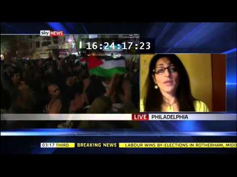 Susana Abulhawa On Palestine SKY NEWS