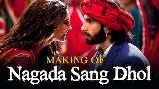 Nagada Sang Dhol Song Making