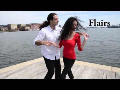 Salsa Dance Moves: Flairs