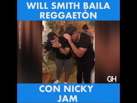 Nicky Jam y Will Smith causan furor en Instagram con el #XChallenge (VÍDEO)