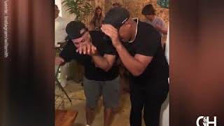 Will Smith baila reggaetón con Nicky Jam