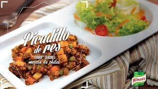 Picadillo de Res Knorr® Sabores Mezcla de Chiles