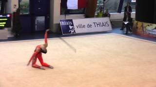Thiais France  city photos : Thomas Gandon Championnats de France Thiais 2013 Corde