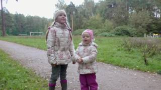 ВЛОГ Гуляем в парке и поем детскую песенку