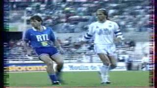 OM 1-0  PSG (35ème Journée de Division 1 1988-1989)