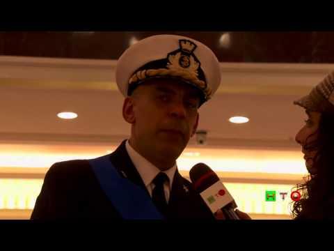 Facciamo ripartire il Paese - La Marina Militare a Euroma2 - CF A. Barbagallo - www.HTO.tv видео