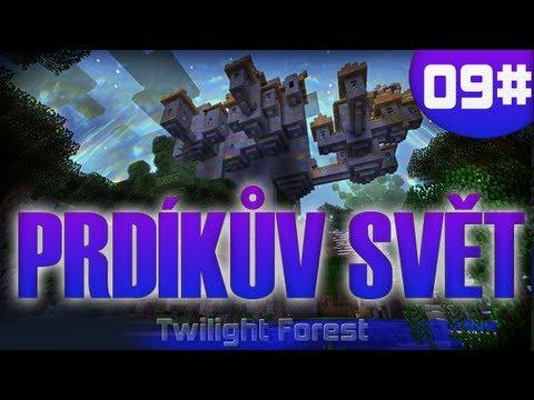 [Vyžírka & Megii plays] Prdíkův SVĚT #9 (Minecraft-Twilight Forest)