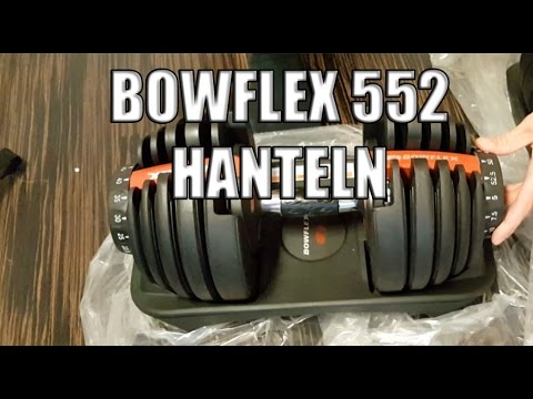 Bowflex 552 Selecttech Hanteln Test und Review