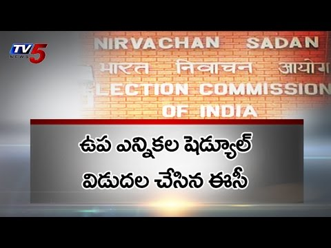 By Election Schedule Release for Medak and Nandigama : TV5 News