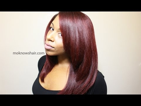silk wrap - Product links available at http://moknowshair.com/silkrollerwrap/ For information about my hair type see http://moknowshair.com/hairprofile/ See color inform...