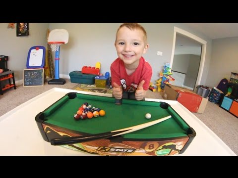 FATHER SON MINI POOL!