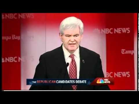Political Insider Newt Gingrich: NBC took audience out of Monday's debate
