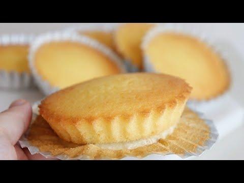 How to make fluffy, soft Japanese lemon madeleine/Madeleine Recipe