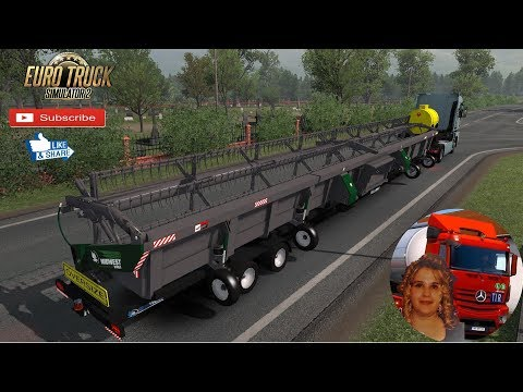 MIDWEST DURUS TRAILERS ETS2 1.34.x