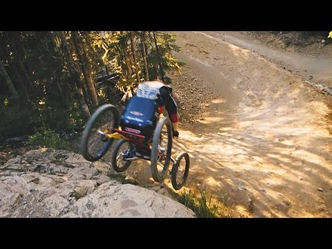 The World's Fastest Mountain Biker on 4 Wheels: Stacy Kohut (видео)