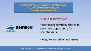 INKN - Part 4 Of Shrink Nanotechnologies (INKN.OB) Mark Baum Interview