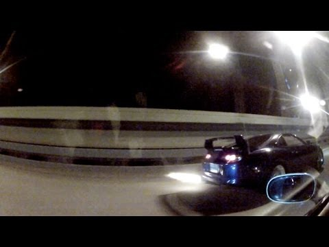 Single Turbo Supra vs Z06 - Highway Run